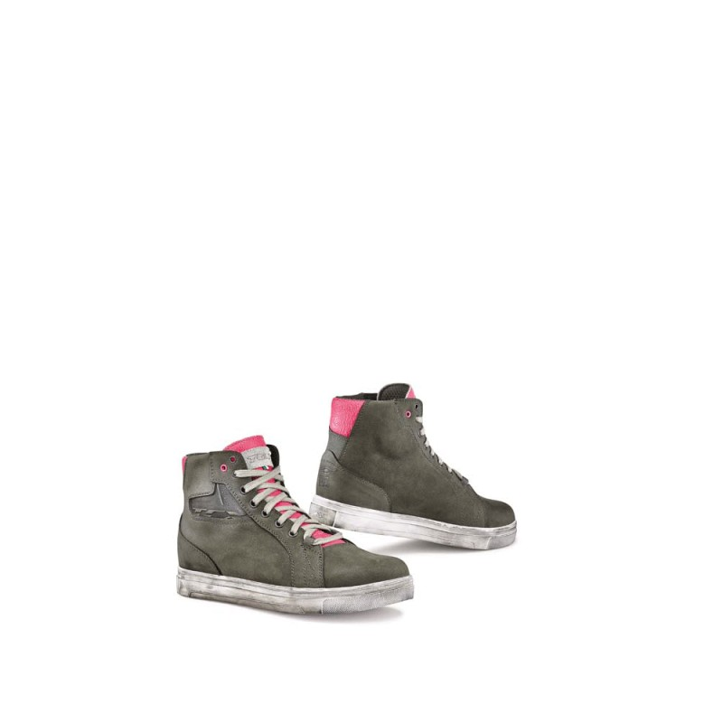 TCX 9422W Street Ace Lady WP Boots - Light Grey Fuchsia