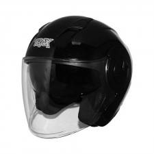 TRAX T735 Motorcycle Open Face Helmet
