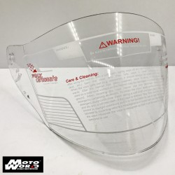 Trax VIS-808M-Helmet Clear Visor for TR03ZR