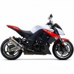 Two Brothers Racing 0052720406DVB Black Series M-2 Aluminum Canister Dual Slip-On Exhaust System