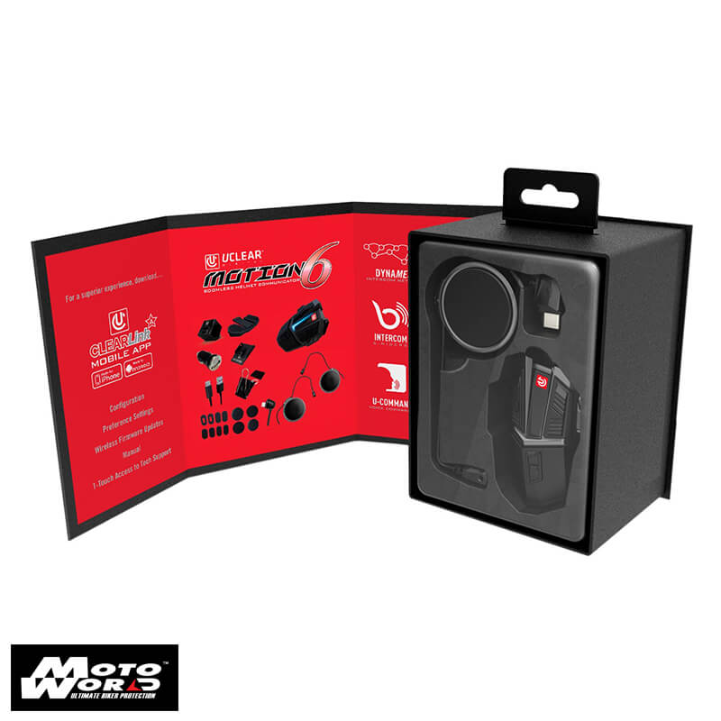 U Clear Motion 6 Bluetooth Helmet Audio System