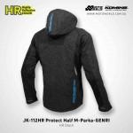 Komine JK-112 HR Protect Half Mesh Parka-GENRI