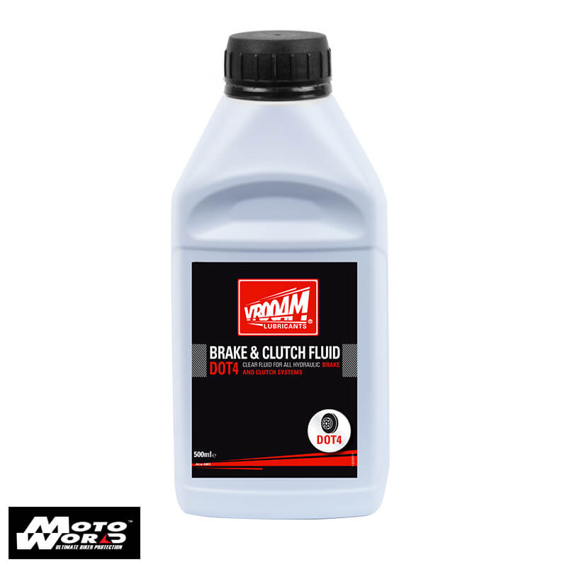 Vrooam 63813 Brake and Clutch Fluid Dot4