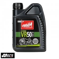 Vrooam AS63624 VR50 4T Semi Synthetic Engine Oil 15W-50
