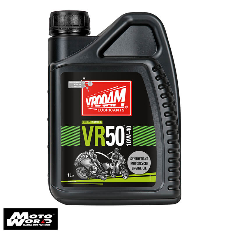 Vrooam AS63634 VR50 4T Semi Synthetic Engine Oil 10W-40