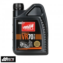 Vrooam AS64634 VR70 4T Fully Synthetic Engine Oil 10W-40