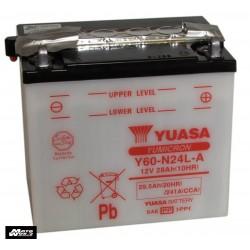 Yuasa Y60-N24AL-B.T Battery