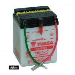 Yuasa YB2.5L Battery