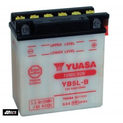 Yuasa YB5L-B(with acid) Battery