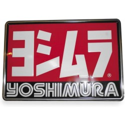 Yoshimura 5515-2417 Logo Metal Sign - 24 x 17 inch