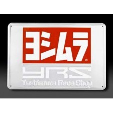 Yoshimura 5528-2417 YRS Logo Metal Sign - 24 x 17 inch