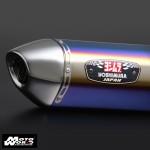 Yoshimura R77J Slip-On for CB400 Revo (Carbon Cap) 08-15 (LTA APPROVED)