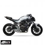 Yoshimura 137000J220 Race R-77 Full System SS-CF-CF for Yamaha FZ-07/MT-07/XSR700 2015-18