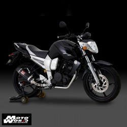 Yoshimura 110-361A5N JMCA Exhaust System Tri-Cone With DB Killer For FZ16/Bison