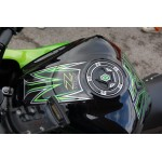 Motografix CAD KGC001R Fuel Cap Sticker for Kawasaki Z1000 Z Series Red