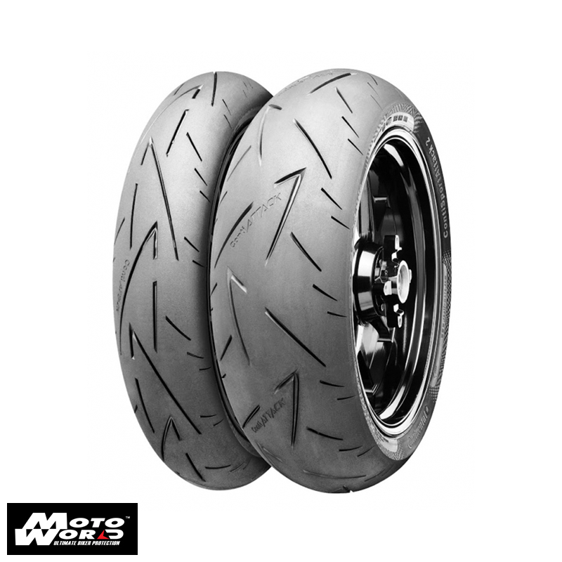 Continental Sport Attack Front and Rear Tire Set