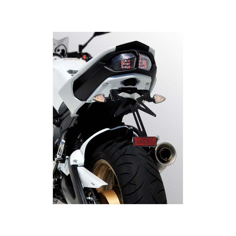 Ermax 790200108 Plate Holder for Yamaha FZ8 10-15 Unpainted