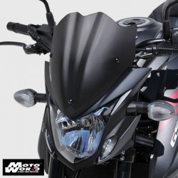 Ermax 0304S89-56 Nose Screen Sport For GSXS750 2017 Dark Black