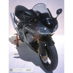 Ermax 010354056 Touring Windshield for Kawazaki Z 750S 05-07 or ZX 10 R Ninja 04-05 Grey +5cm