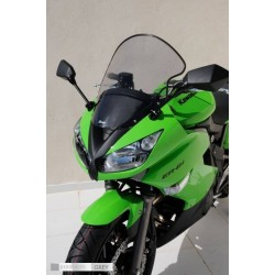 Ermax 010354071 Touring Windshield for Kawasaki ER6F 09-10 +7cm with Flip Up Screen Grey
