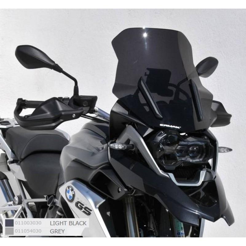 Ermax 011054030 Touring Windshield for Ducati Multistrada 1200 10-12 Smoked +10cm