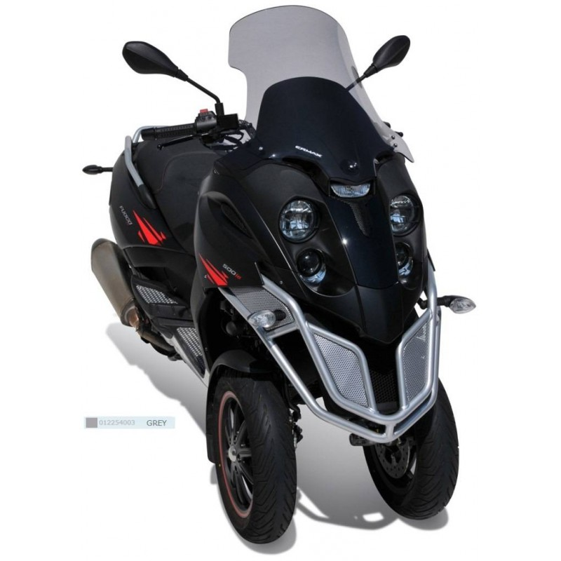 Ermax 012254003 Touring Windshield for BMW R1200Gs/Adventure(+Fit Kit)13-15 Grey +8cm