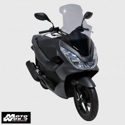 Ermax 010102P47 Scooter Windshield High Protection for PCX 125/150 14-16 Smoke