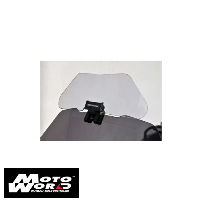Ermax 010554003 Clip And Flip Universal Screen Deflector with Fitting Kit Grey