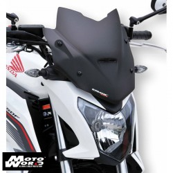 Ermax 030103150 Nose Screen Sport 28cm for CB650F 14-16 Light Black