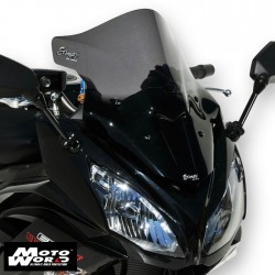 Ermax 070356082 Aeromax Screen 42cm ER6F 12-16,Ninja 650R Dark Black