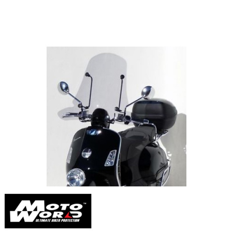 Ermax GD1301002 Scooter Windshield Grandissimo 65cm for Vespa GTV125/250/300 Clear