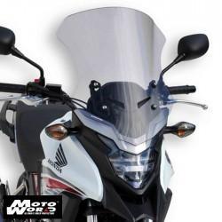 Ermax TO154156 Touring Screen for Honda CB500X 2016 Grey