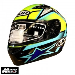 HJC CS-15 Toni Elias 24 MC4H Full Face Motorcycle Helmet - PSB Approved