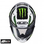 HJC RPHA 11 Military White Sand MC4 Full Face Motorcycle Helmet