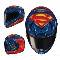 HJC RPHA 11 Superman Dc Comics Full Face Motorcycle Helmet - PSB Approved