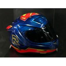 HJC RPHA11 Superman Dc Comics Full Face Motorcycle Helmet