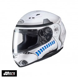 HJC CS-15 Stormtrooper Star Wars MC10SF Full Face Motorcycle Helmet Buy 2 for $280