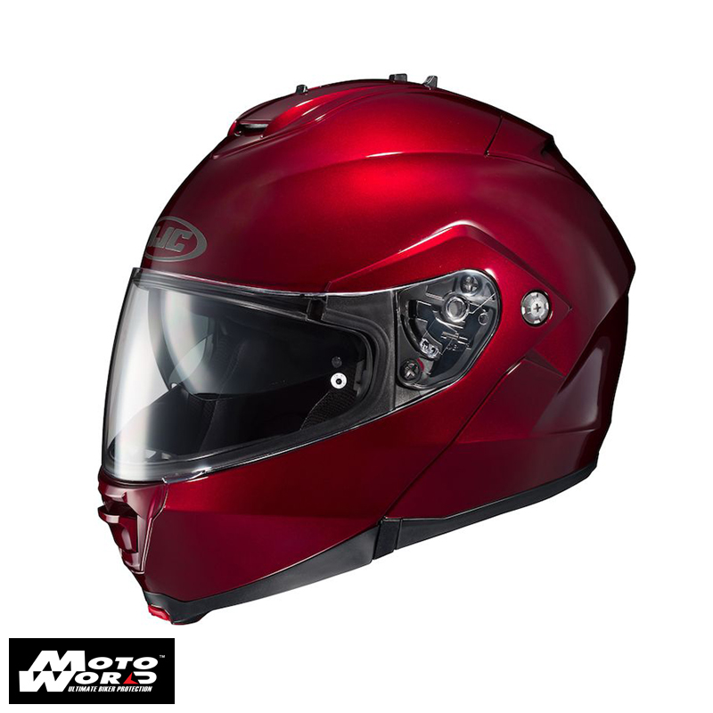 HJC IS MAX 2 Wine Red Modular Helmet