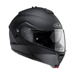 HJC IS Max 2 Rubbertone Flat Black Modular Motorcycle Helmet