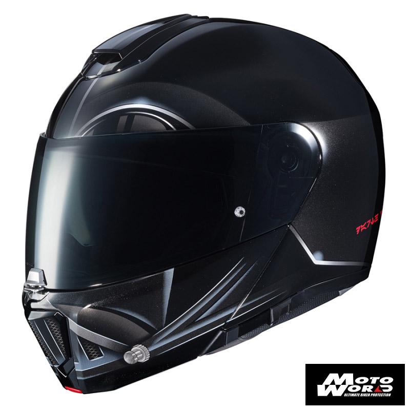 HJC RPHA-90 Star Wars Darth Vader MC5 Modular Motorcycle Helmet