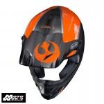 HJC CS MX 2 X Wing Star Wars Off Road Motorcycle Helmet