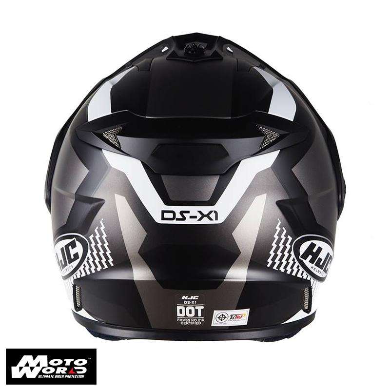 HJC DS-X1 Awing Dual Sport Motorcycle Helmet