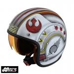 HJC FG 70S X Wing Fighter Pilot MC1F Classic Motorcycle Helmet