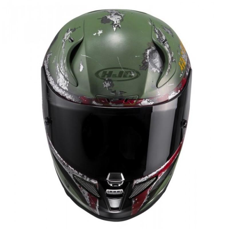 HJC RPHA 11 Boba Fett MC4SF Full Face Motorcycle Helmet