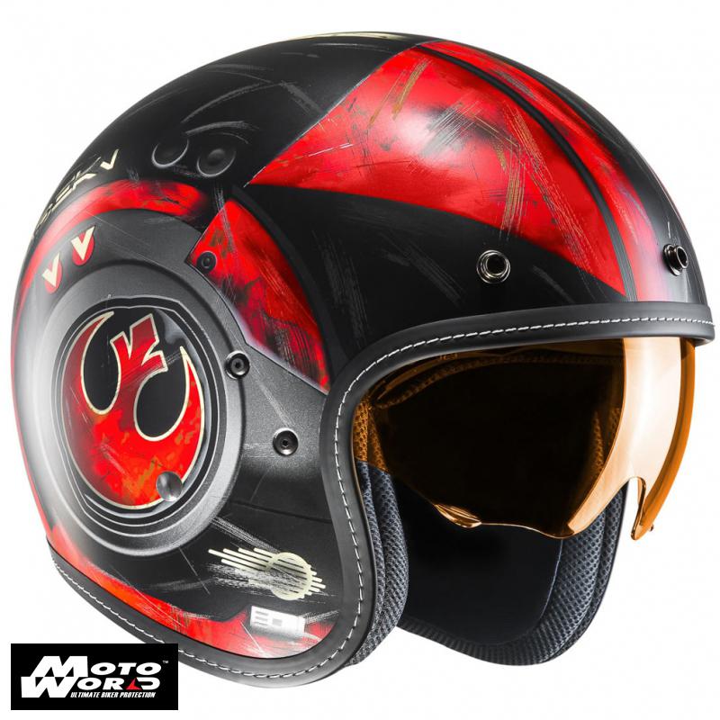HJC FG 70S Poe Dameron Star Wars MC1SF Classic Motorcycle Helmet