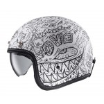HJC FG 70S Machu MC10SF Classic Motorcycle Helmet
