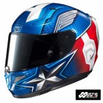 HJC RPHA 11 Captain American Full Face Motorcycle Helmet