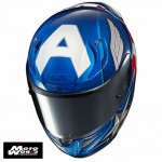 HJC RPHA 11 Captain American Full Face Motorcycle Helmet - PSB Approved