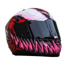 HJC RPHA 11 Carnage Marvel Full Face Motorcycle Helmet - PSB Approved