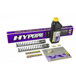 Hyperpro SPYA05 SSA009 front fork spring kit for Yamaha Xp500 Tmax (Abs) 08 onwards with 43 mm fork and ABS